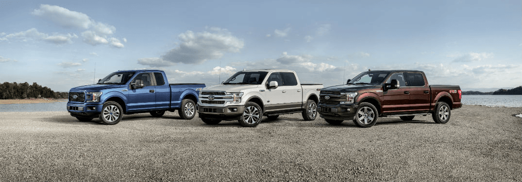 2019 Ford F-150 Sports trims