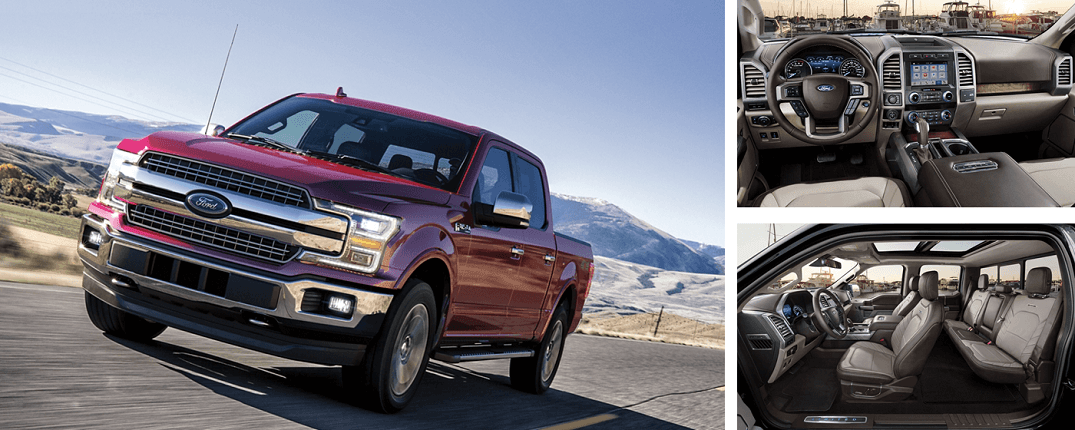 2019 Ford F-150 Sports technology