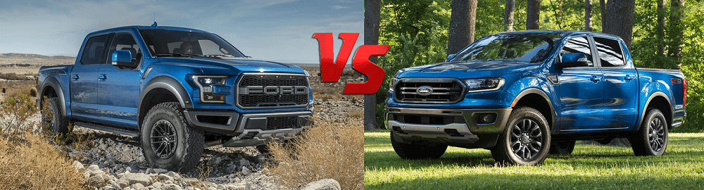 Ford Ranger 2020 vs Ford F Series 2020 Models