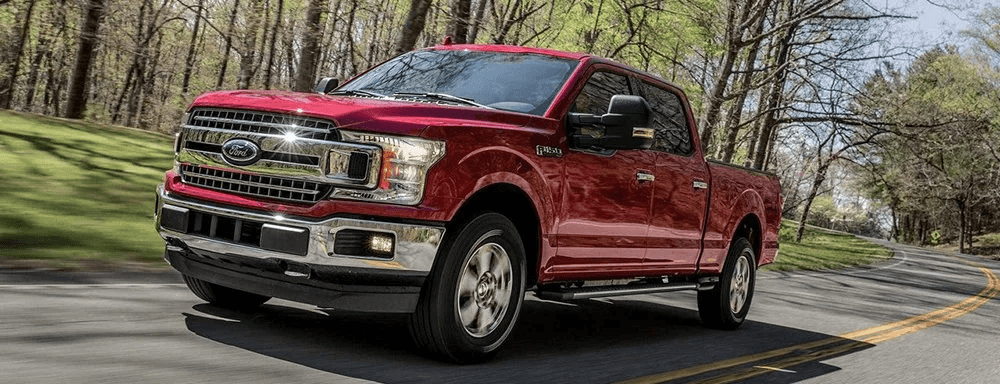 New Ford f 150 red