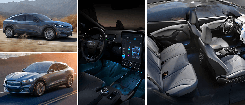 20201 Ford Mustang Mach-E Interior and Exterior design