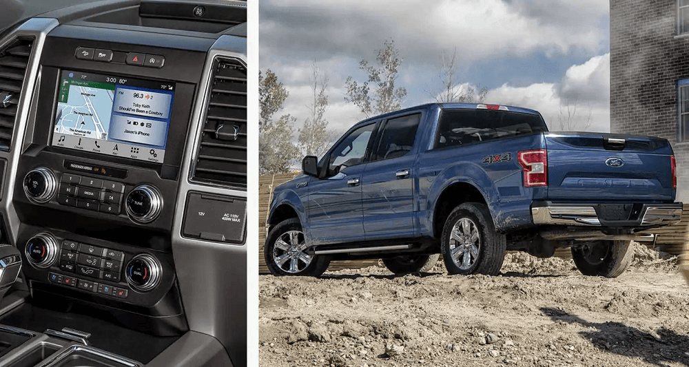 2020 Ford F-150 design and interior