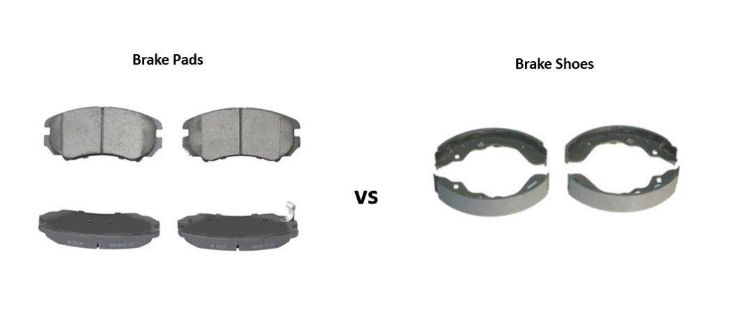 brake pads and brake shoes